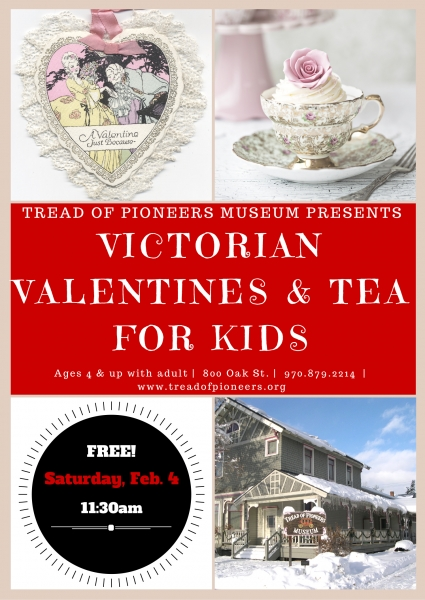 Victorian Valentines & Tea For Kids