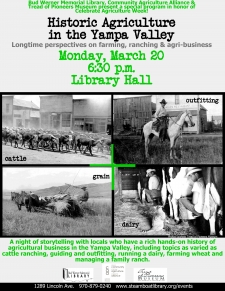 Historic Agriculture in the Yampa Valley