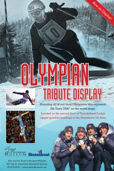 Olympian Tribute Display