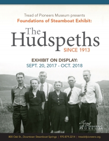 Foundations of Steamboat exhibit: The Hudspeth Family