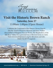 Tour the Historic Brown Ranch