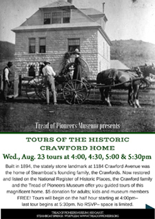 Tours of the Historic Crawford Home