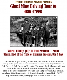 Ghost Mine Driving Tour to Oak Creek