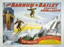 Barnum & Bailey Giclee Poster featuring Carl Howelsen