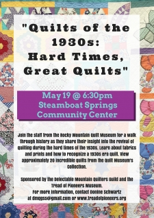 Quilts of the 1930s: Hard Times, Great Quilts