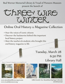 Celebrate Three Wire Winter: Launching Routt County history into the digital age
