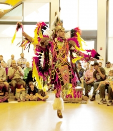 Ute Indian Pow Wow Dance Performance and Presentation